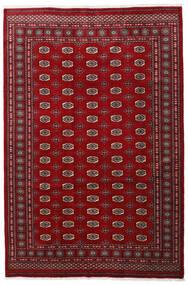 Pakistan Bokhara 3Ply Rug 201X301 Authentic  Oriental Handknotted Dark Red/Crimson Red/Dark Brown (Wool, Pakistan)