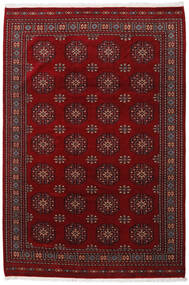 Pakistan Bokhara 3Ply Rug 201X301 Authentic  Oriental Handknotted Dark Red/Dark Brown (Wool, Pakistan)
