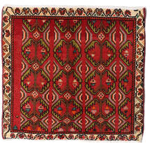 Qashqai Rug 57X60 Authentic  Oriental Handknotted Square Dark Red/Dark Brown (Wool, Persia/Iran)