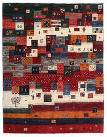 Gabbeh Persia Rug 167X213 Authentic Modern Handknotted Dark Red/Black/Dark Brown (Wool, Persia/Iran)
