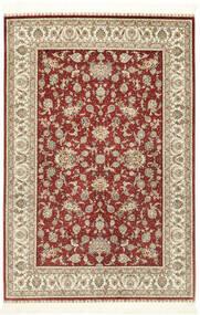Herike Ch Rug 124X186 Authentic Oriental Handknotted Dark Red/Beige (Silk, China)
