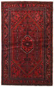 Hamadan Rug 127X209 Authentic Oriental Handknotted Dark Red/Dark Brown (Wool, Persia/Iran)