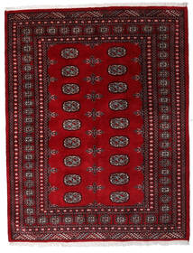 Pakistan Bokhara 3Ply Rug 146X188 Authentic Oriental Handknotted Dark Red/Dark Brown (Wool, Pakistan)