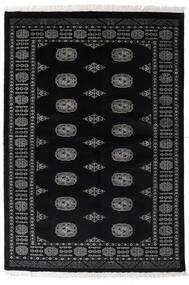Pakistan Bokhara 3Ply Rug 135X196 Authentic  Oriental Handknotted Black/Dark Grey (Wool, Pakistan)