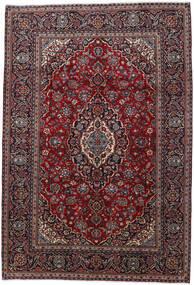 Keshan Rug 200X290 Authentic  Oriental Handknotted Dark Red (Wool, Persia/Iran)