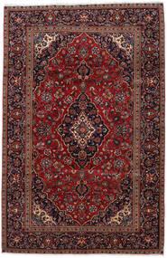 Keshan Rug 193X298 Authentic  Oriental Handknotted Dark Red (Wool, Persia/Iran)