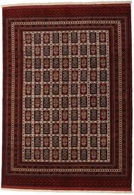 Turkaman Rug 208X289 Authentic  Oriental Handknotted Dark Brown/Dark Red (Wool, Persia/Iran)