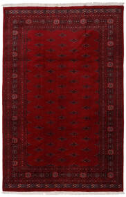 Pakistan Bokhara 3Ply Rug 196X301 Authentic  Oriental Handknotted Dark Red/Dark Brown (Wool, Pakistan)