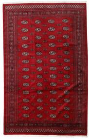 Pakistan Bokhara 3Ply Rug 201X316 Authentic  Oriental Handknotted Crimson Red/Dark Red (Wool, Pakistan)
