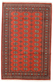 Pakistan Bokhara 2Ply Rug 159X248 Authentic  Oriental Handknotted Dark Red/Rust Red (Wool, Pakistan)