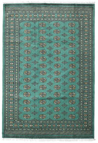 Pakistan Bokhara 2Ply Rug 187X276 Authentic Oriental Handknotted Turquoise Blue/Dark Grey (Wool, Pakistan)