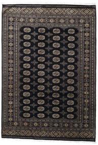 Pakistan Bokhara 2Ply Rug 171X247 Authentic  Oriental Handknotted Black/Dark Grey (Wool, Pakistan)