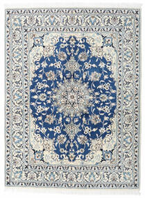 Nain Rug 150X200 Authentic  Oriental Handknotted Beige/Light Grey (Wool, Persia/Iran)