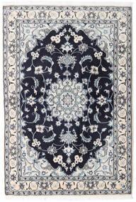 Nain Rug 131X194 Authentic  Oriental Handknotted Light Grey/Dark Purple (Wool, Persia/Iran)