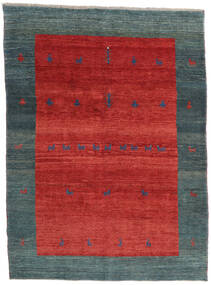 Gabbeh Rustic Rug 213X290 Authentic  Modern Handknotted Rust Red/Blue (Wool, Persia/Iran)