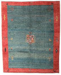 Gabbeh Rustic Rug 234X293 Authentic Modern Handknotted Turquoise Blue/Light Grey (Wool, Persia/Iran)