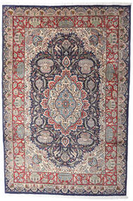 Kashmar Indo Rug 206X311 Authentic  Oriental Handknotted Light Grey/Dark Brown (Wool, India)