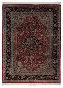Keshan Indo Rug 248X335 Authentic  Oriental Handknotted Dark Red/Dark Brown (Wool, India)