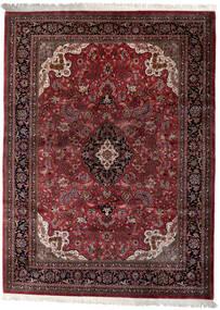 Keshan Indo Rug 258X350 Authentic  Oriental Handknotted Dark Red/Dark Brown Large (Wool, India)