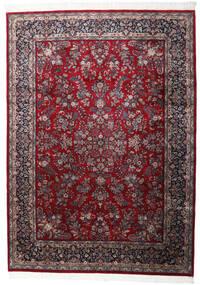 Keshan Indo Rug 250X348 Authentic  Oriental Handknotted Dark Red/Dark Brown Large (Wool, India)