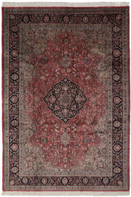 Keshan Indo Rug 247X355 Authentic  Oriental Handknotted Dark Brown/Light Grey (Wool, India)