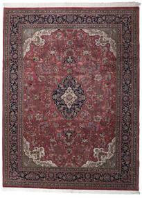 Keshan Indo Rug 259X347 Authentic  Oriental Handknotted Dark Red/Brown/Dark Brown Large (Wool, India)