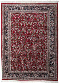 Keshan Indo Rug 256X349 Authentic  Oriental Handknotted Dark Brown/Dark Red Large (Wool, India)