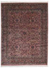 Keshan Indo Rug 252X336 Authentic  Oriental Handknotted Brown/Light Brown Large (Wool, India)
