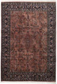 Keshan Indo Rug 245X355 Authentic  Oriental Handknotted Dark Brown/Black (Wool, India)