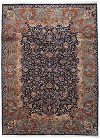 Kashmar Indo Rug 254X342 Authentic  Oriental Handknotted Black/Dark Brown Large (Wool, India)
