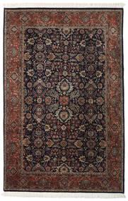 Keshan Indo Rug 202X310 Authentic  Oriental Handknotted Dark Red/Dark Brown (Wool, India)