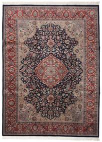 Keshan Indo Rug 254X346 Authentic  Oriental Handknotted Dark Grey/Brown Large (Wool, India)