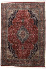 Keshan Indo Rug 247X350 Authentic  Oriental Handknotted Dark Red/Dark Brown (Wool, India)