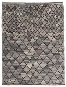 Kilim Ariana Rug 152X198 Authentic  Modern Handwoven Light Grey/Dark Grey (Wool, Afghanistan)