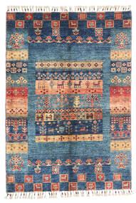 Modern Afghan Rug 87X124 Authentic  Modern Handknotted Dark Blue/Blue (Wool, Afghanistan)