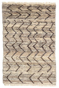Moroccan Berber - Afghanistan Rug 114X176 Authentic  Modern Handknotted Light Grey/Beige (Wool, Afghanistan)