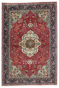 Tabriz Rug 100X150 Authentic  Oriental Handknotted Black/Dark Grey (Wool, Persia/Iran)