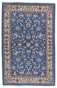 Kashmar Rug 105X160 Authentic Oriental Handknotted Light Grey/Dark Blue (Wool, Persia/Iran)