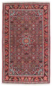 Bidjar Rug 84X134 Authentic Oriental Handknotted Dark Brown/Dark Red (Wool, Persia/Iran)