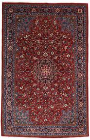 Mahal Rug 210X322 Authentic  Oriental Handknotted Dark Red/Dark Brown (Wool, Persia/Iran)