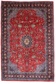 Mahal Rug 220X330 Authentic  Oriental Handknotted Dark Purple/Dark Red (Wool, Persia/Iran)