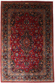 Mashad Rug 197X300 Authentic  Oriental Handknotted Dark Red (Wool, Persia/Iran)