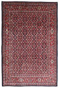 Sarouk Rug 215X322 Authentic  Oriental Handknotted Dark Red/Dark Brown (Wool, Persia/Iran)