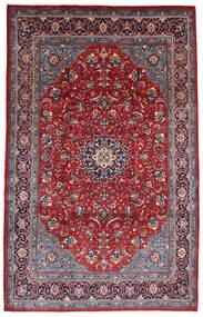 Hamadan Shahrbaf Rug 215X340 Authentic  Oriental Handknotted Dark Purple/Crimson Red (Wool, Persia/Iran)