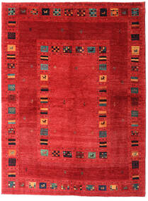 Loribaft Persia Rug 165X225 Authentic  Modern Handknotted Rust Red/Crimson Red (Wool, Persia/Iran)