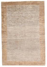 Loribaft Persia Rug 83X123 Authentic  Modern Handknotted Dark Brown/Light Grey (Wool, Persia/Iran)
