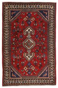 Qashqai Rug 80X125 Authentic Oriental Handknotted Dark Red/Black/Rust Red (Wool, Persia/Iran)