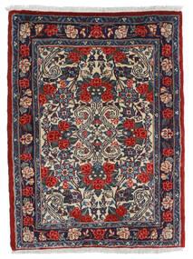 Sarouk Rug 58X80 Authentic  Oriental Handknotted Dark Grey/Black (Wool, Persia/Iran)