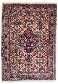 Sarouk Rug 59X82 Authentic  Oriental Handknotted Dark Purple/Light Grey (Wool, Persia/Iran)
