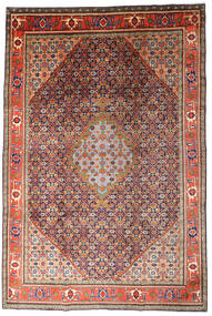 Ardebil Rug 215X320 Authentic Oriental Handknotted Dark Red/Dark Purple (Wool, Persia/Iran)